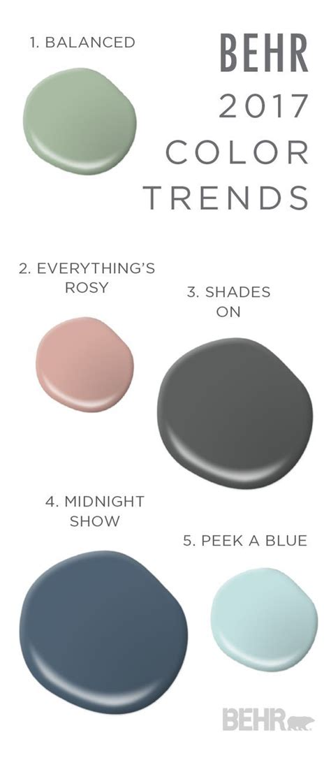 this paint combination of balanced everything s rosy