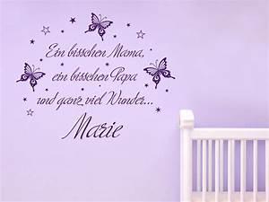 Motive Für Babyzimmer : wandtattoo und ganz viel wunder mit name bei ~ Michelbontemps.com Haus und Dekorationen