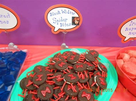 avengers themed birthday party food recipe  denise cookeatshare