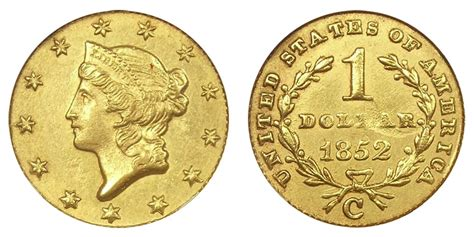 are gold dollars worth anything 1852 c liberty head gold dollars type 1 early gold dollar value and prices