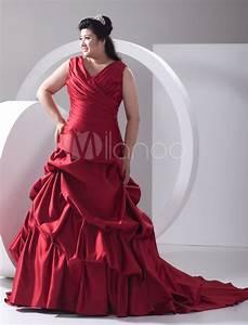 elegant photos of stylish plus size red wedding dresses With red plus size wedding dresses