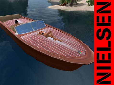 Runabout Boat Wood by Second Marketplace Runabout Classic Wood Drivable