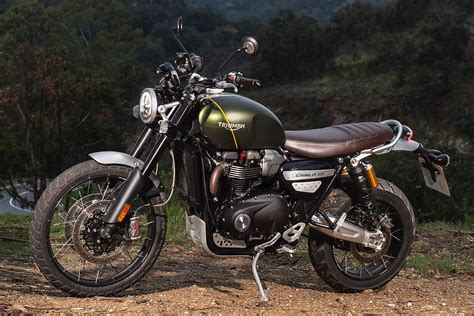 Triumph Scrambler 1200 Picture by 2019 Triumph Scrambler 1200 Xe And Xc Test On And Road