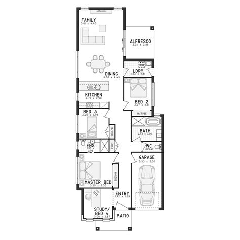 single story home floor plans cammeray