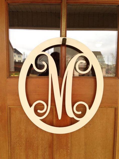 monogram letters  front door levelings