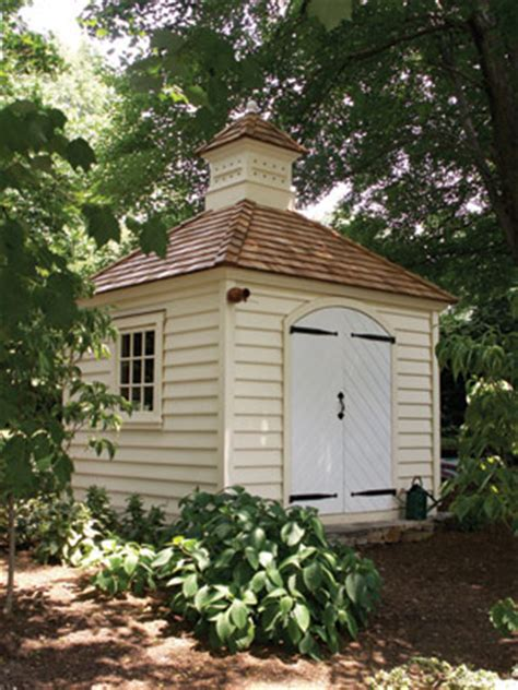 gardensheds the williamsburg collection