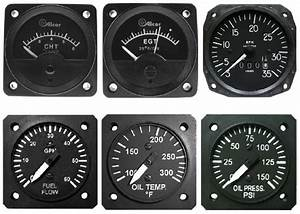 Classical Gauges For Monitoring Of Aircraft Piston Engine