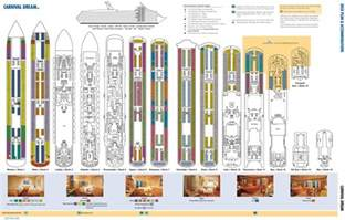 carnival dream deck plan maplets