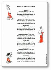 Chanson Bebe Anglais : chanson l 39 empereur sa femme et le petit prince paroles illustr es ~ Medecine-chirurgie-esthetiques.com Avis de Voitures