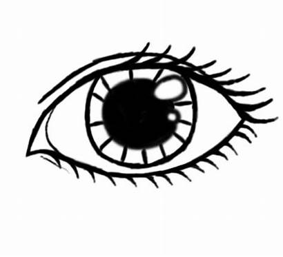 Drawing Eye Eyes Draw Outline Cartoon Drawings