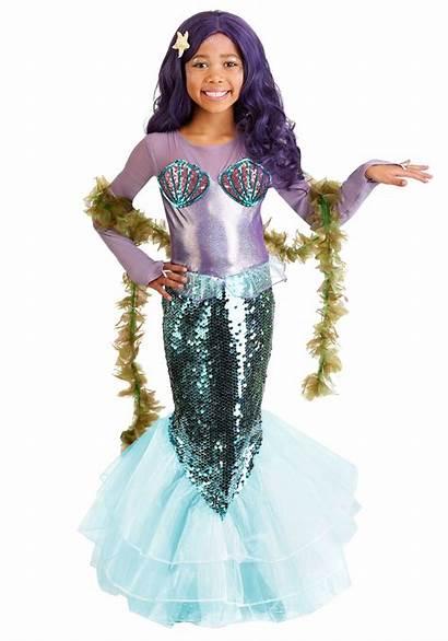 Mermaid Costume Purple Pretty Costumes Child Halloween