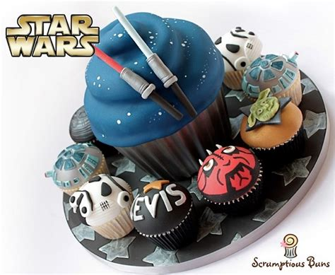 force    stellar star wars cakes designs