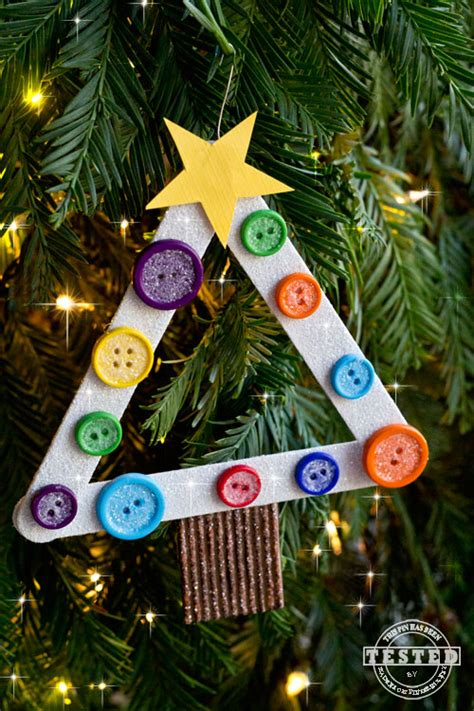 diy kids christmas tree ornament kids christmas trees diy buttons and button tree