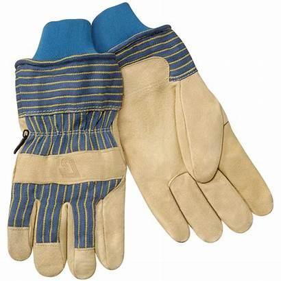 Gloves Winter Pigskin Safety Steiner Knit Wrist