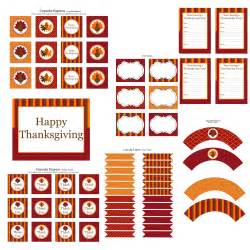 free thanksgiving printables from cupcake express catch my