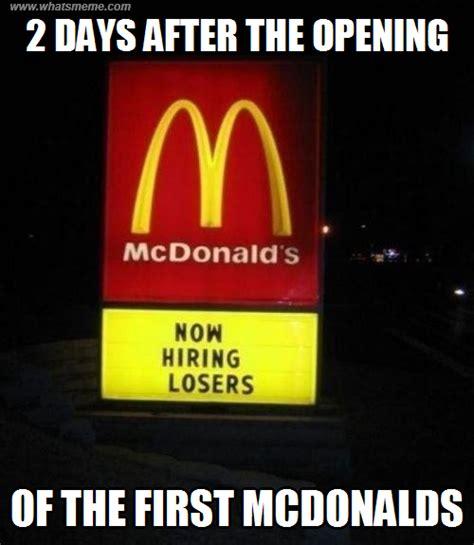 Mcdonalds Memes - image gallery mcdonald s meme