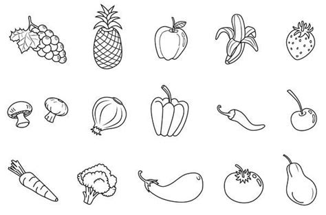 pin  ann judd  human body vegetable coloring pages