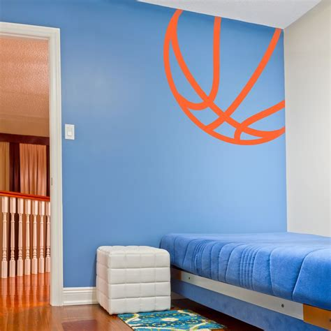 Sports Corner In The Boys Room by Corner Basketball Wall Decal Kid S Room In 2019