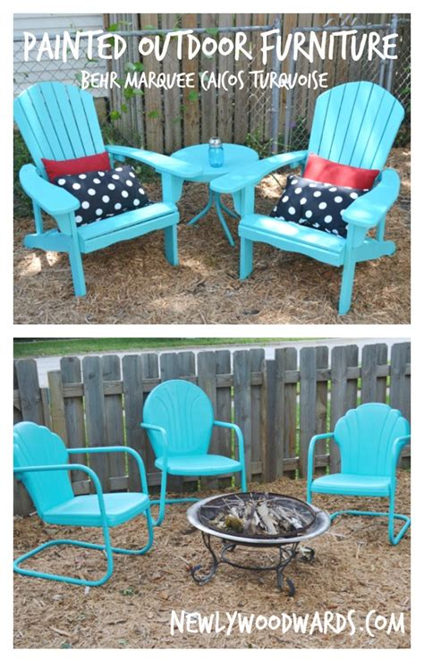 refreshing outdoor chairs  behr marquee caicos