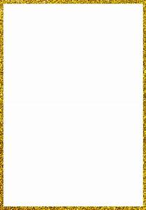 Gold Glitter Border Pictures to Pin on Pinterest - ThePinsta