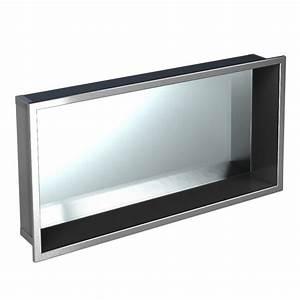 étanchéité Salle De Bain : niche pr fabriqu e avec miroir int gr pour salle de bain ~ Edinachiropracticcenter.com Idées de Décoration
