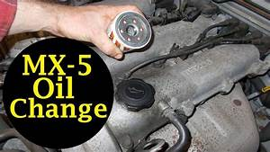 Mazda Mx-5 Oil Change And Oil Filter Change