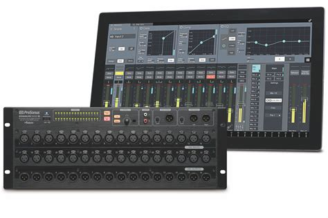 presonus launches studiolive rm series digital mixers