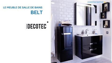 meuble de salle de bains belt decotec 649140 castorama