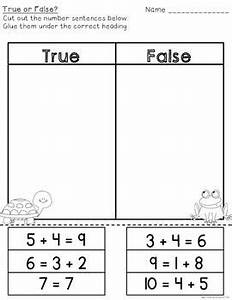 True or False Addition Practice Cards & Assessment Sheets ...