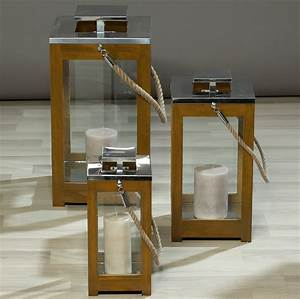 Windlicht Laterne Holz : laterne 3er set windlicht licht glas holz laternenset glaslaterne holzlaterne ebay ~ Bigdaddyawards.com Haus und Dekorationen