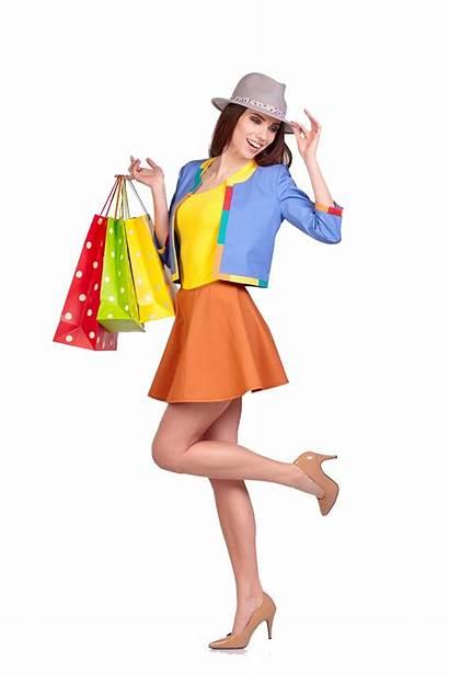 Shopping Woman Bag Beauty Clipart Bags Paper