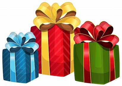 Gift Clipart Gifts Boxes Transparent Colorful Presents