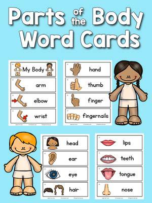 Pictureword Cards Printables Prekinders