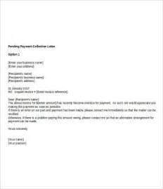pending payment request letter pc