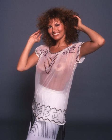 Raquel Welch In Diaphanous Top S Raquel Welch