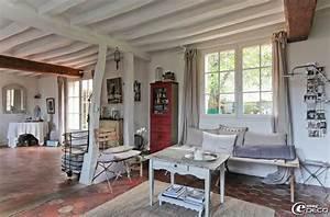 decoration salon avec tomettes With decoration maison avec tomettes