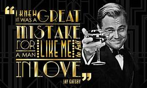 Great Gatsby Mo... Jay Gatsby Charming Quotes