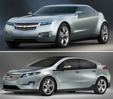 Chevrolet Volt Hybrid From Concept Production Carscoops