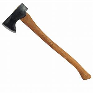 2# Wood-Craft Pack Axe, 24″ Curved Handle, Mask – Council Tool