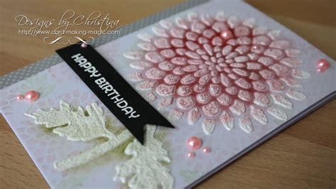 embossing  stencils youtube