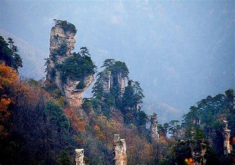 wulingyuan scenic area zhangjiajie wulingyuan china