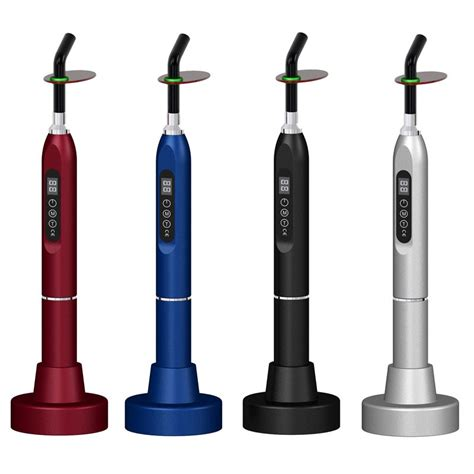 dental curing light 5w multicolor wireless dental curing light c215 1200mw cm2