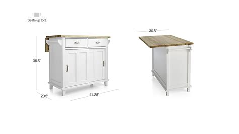 belmont kitchen island belmont white kitchen island crate and barrel