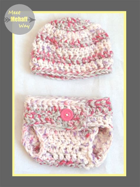 Free Crochet Diaper Cover Pattern 0 3 Months by Meet Mehaff Way Pattern Easy Crochet Chunky Diaper Cover