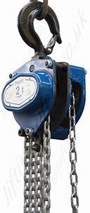 Tractel  U0026quot Tralift U0026quot  Manual Chain Hoists  Top Hook Suspended