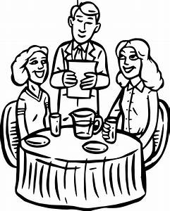 Restaurant Building People Cheap Restaurant Coloring Page ...