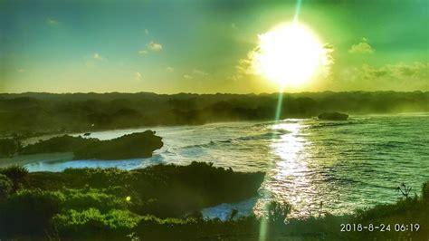 pantai krakal pesona indahnya pantai  yogyakarta
