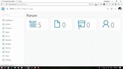 Blazor Admin Core Demo Dotnet