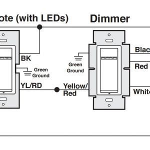Lutron Way Dimmer Wiring Diagram Free