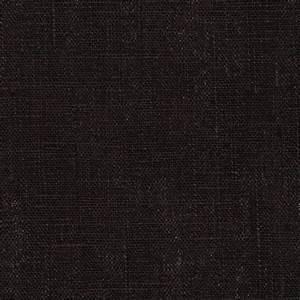 Medium Weight 100% European Linen Black - Discount